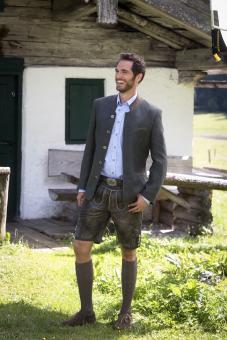 Sakko Paolo graphit Jacke in Größe 50 50 | anthrazit