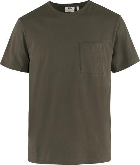 Övik T-Shirt dark olive M   dkl.oliv