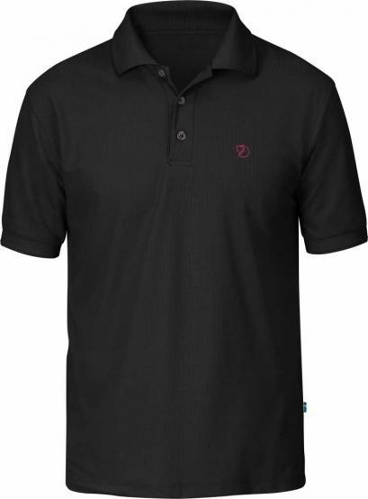 Crowley Pique Shirt black S | schwarz