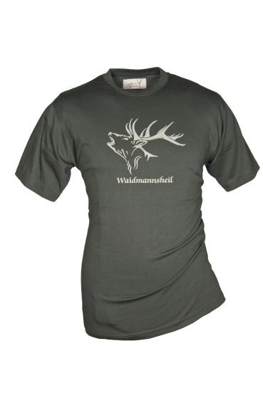 T-Shirt Waidmannsheil oliv S | oliv