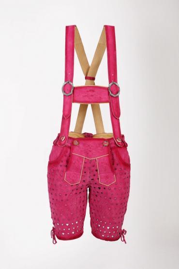 Krüger Collection Lederhose in Größe 34 34   pink